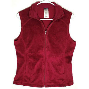 Patagonia Womens Purple Fleece Vest Size Medium